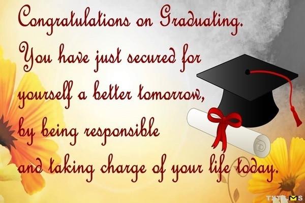 Congrats Graduation Quotes  Powerful Congratulations Messages For Graduations I Love