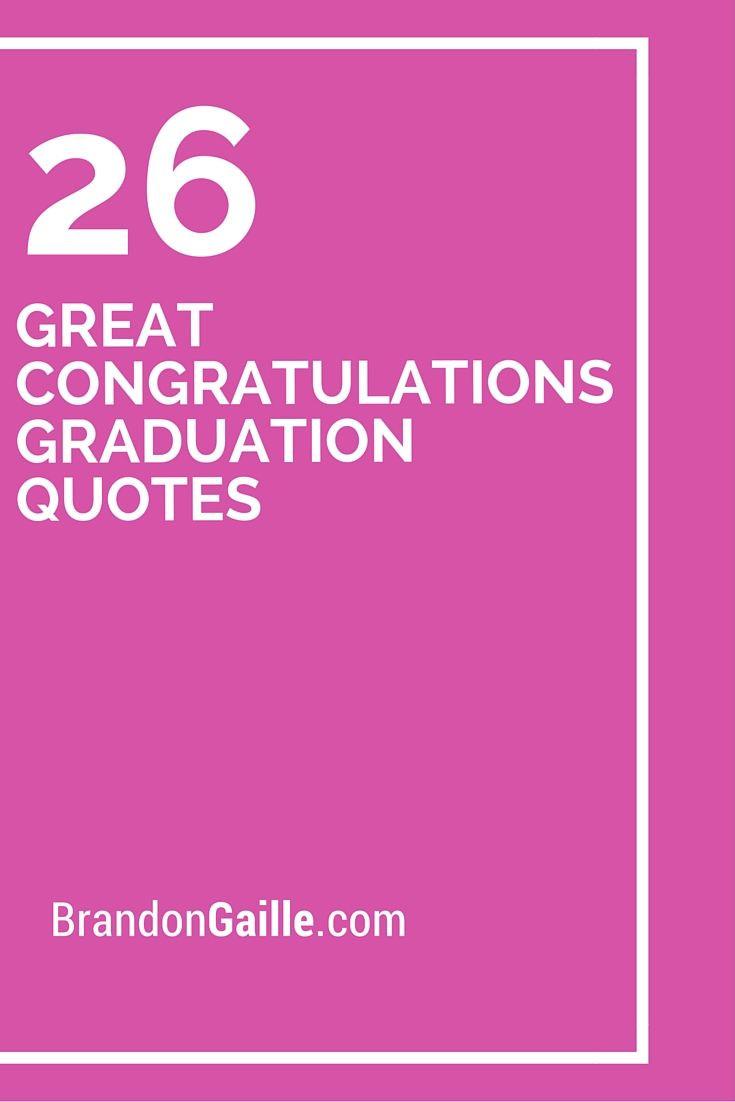 Congrats Graduation Quotes  Best 25 Graduation announcements wording ideas on