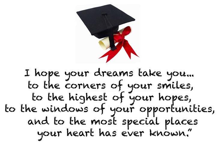 Congrats Graduation Quotes  25 best Congratulations Quotes on Pinterest