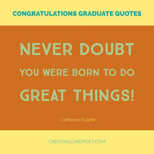 Congrats Graduation Quotes  Best 25 Congratulations graduation quotes ideas on