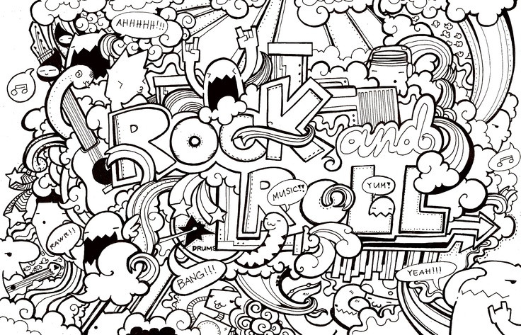 Cool Coloring Pages Boys Hard  coloring page for older kids you know the ones who think