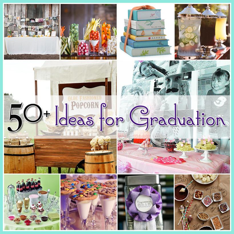 Cool Graduation Party Ideas  50 Ideas for Graduation The Cottage Market