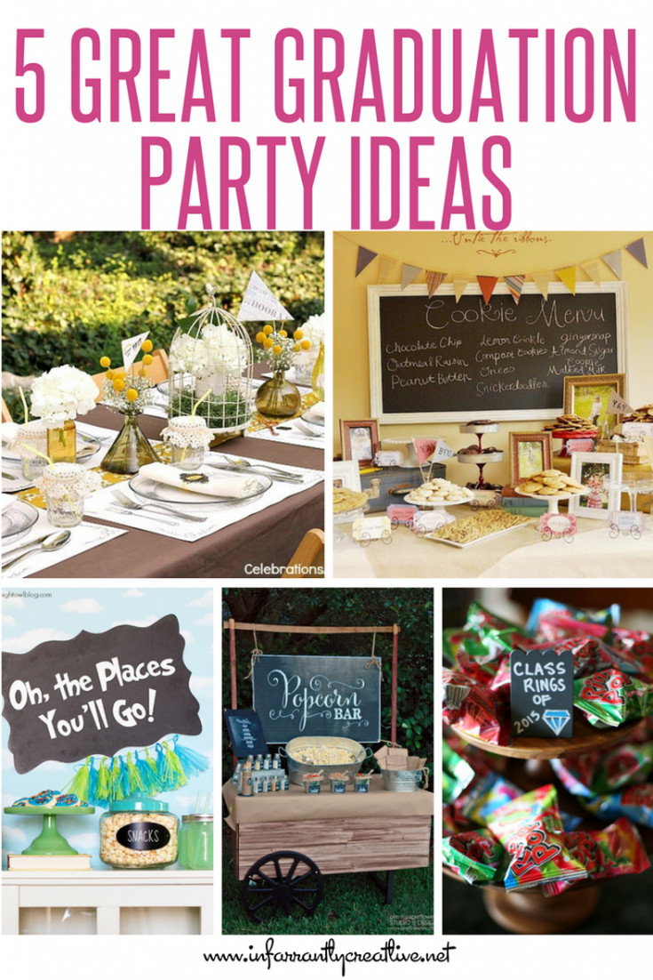 Cool Graduation Party Ideas  5 Great Graduation Party Ideas Infarrantly Creative