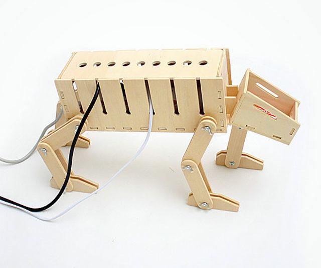 Cord Organizer DIY  DIY AT AT Cable Organizer