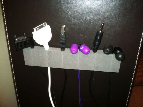 Cord Organizer DIY  15 DIY Cord And Cable Organizers For A Clean And