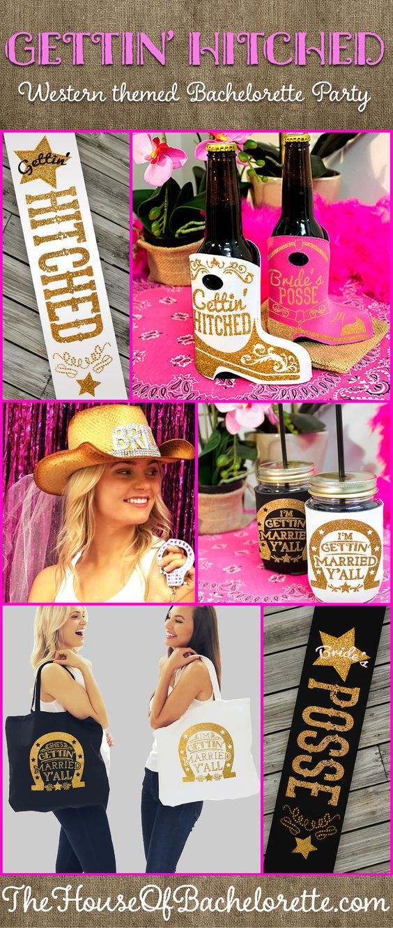 Country Bachelorette Party Ideas  Country Western Theme Bachelorette Party Supplies & Ideas