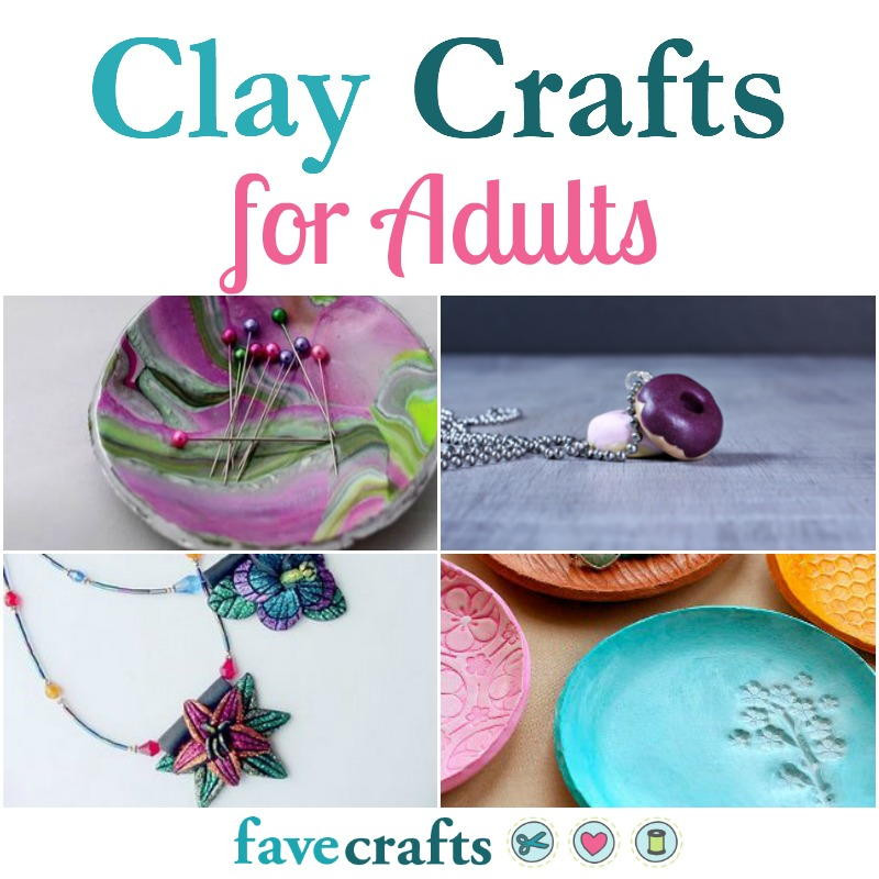 Craft For Adults  41 Clay Crafts for Adults
