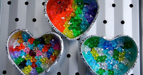 Craft For Older Adults  Melting Bead Sun catchers
