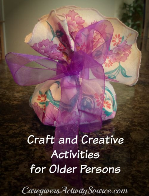 Craft For Older Adults  17 Best images about Older Adults on Pinterest