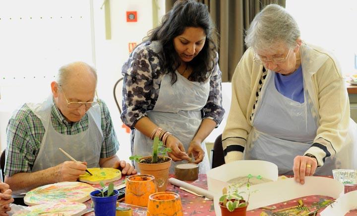 Craft For Older Adults  Older People Geffrye UK