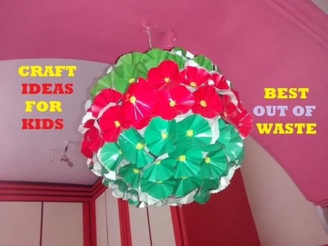 Craft Ideas For Kids With Waste Material  Best Out of Waste Craft Ideas For Kids