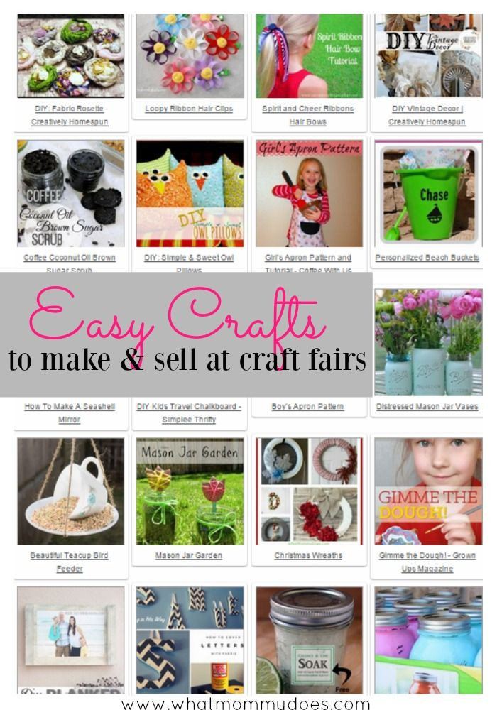 Crafts For Kids To Sell  50 Crafts You Can Make and Sell