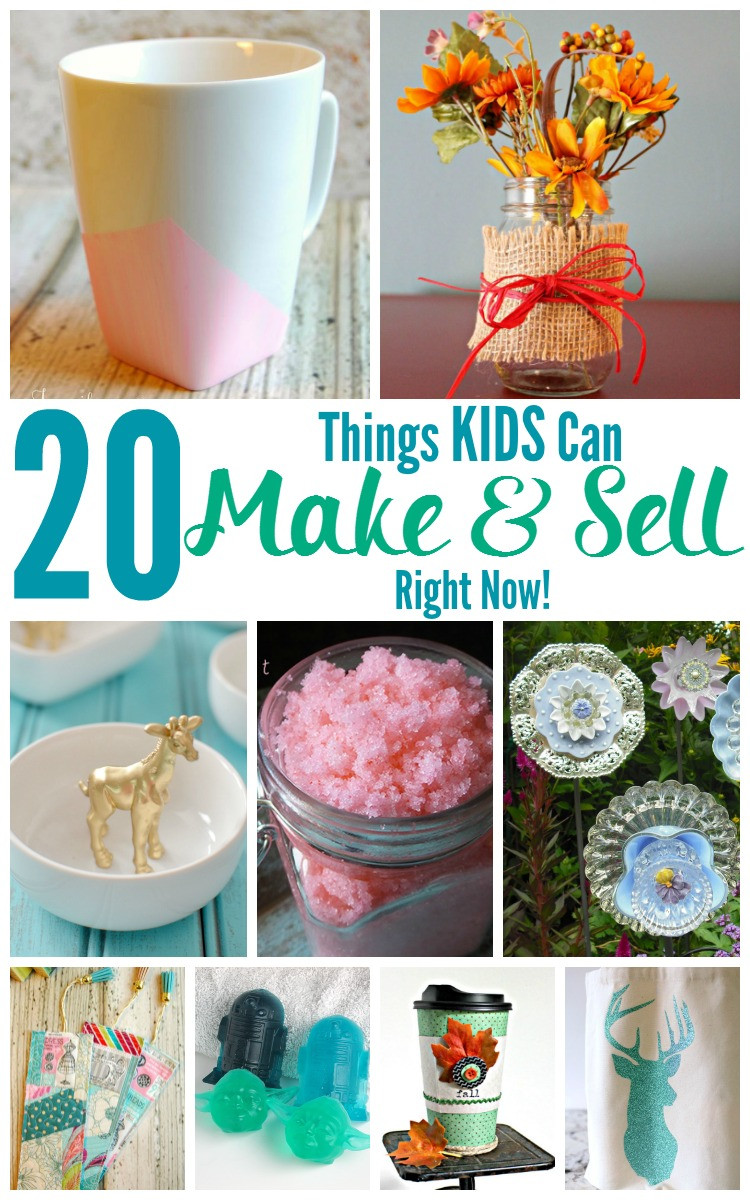 Crafts For Kids To Sell  20 Things KIDS Can Make and Sell Right Now Jenn s RAQ