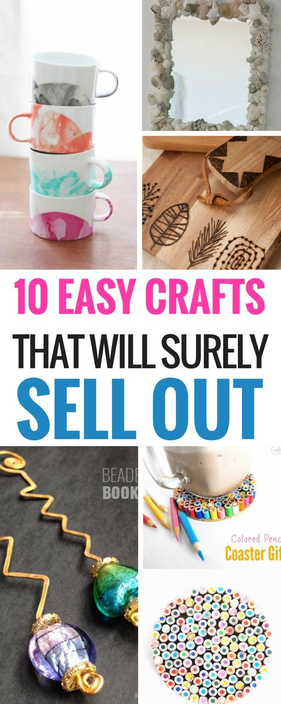 Crafts For Kids To Sell  10 Easy DIY Crafts That Will Totally Sell
