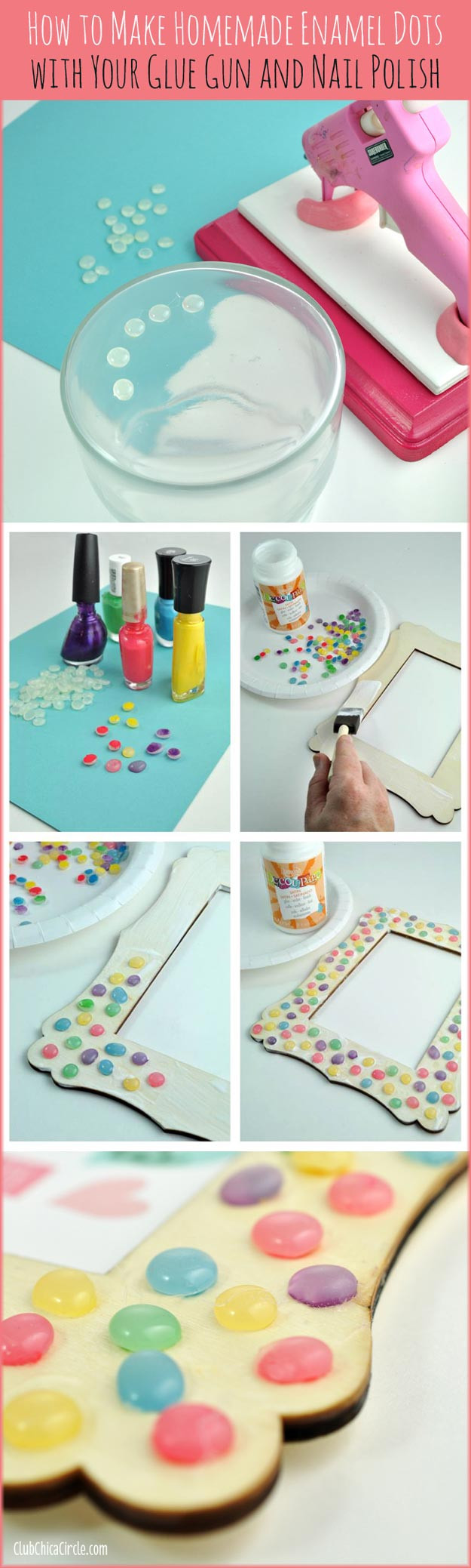 Crafts To Do At Home For Adults  31 Incredibly Cool DIY Crafts Using Nail Polish