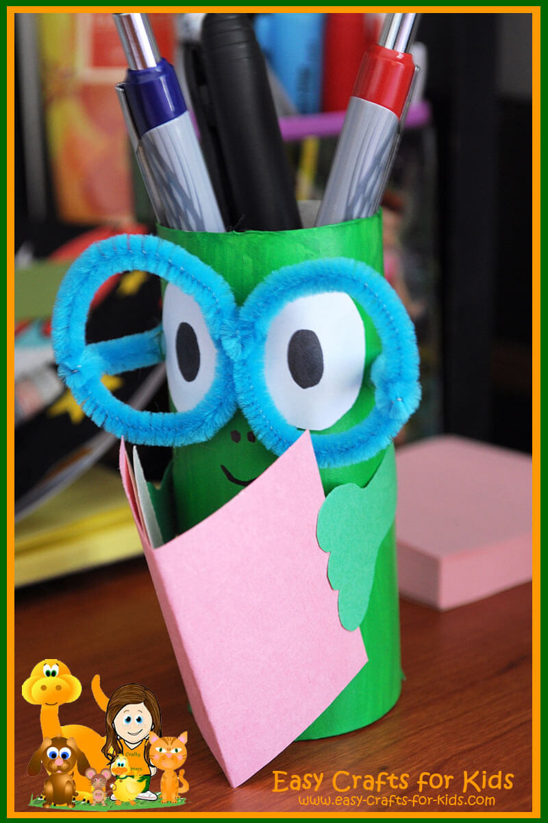 Crafts With Kids  Pencil Holder Crafts for Kids Get ready for back to school