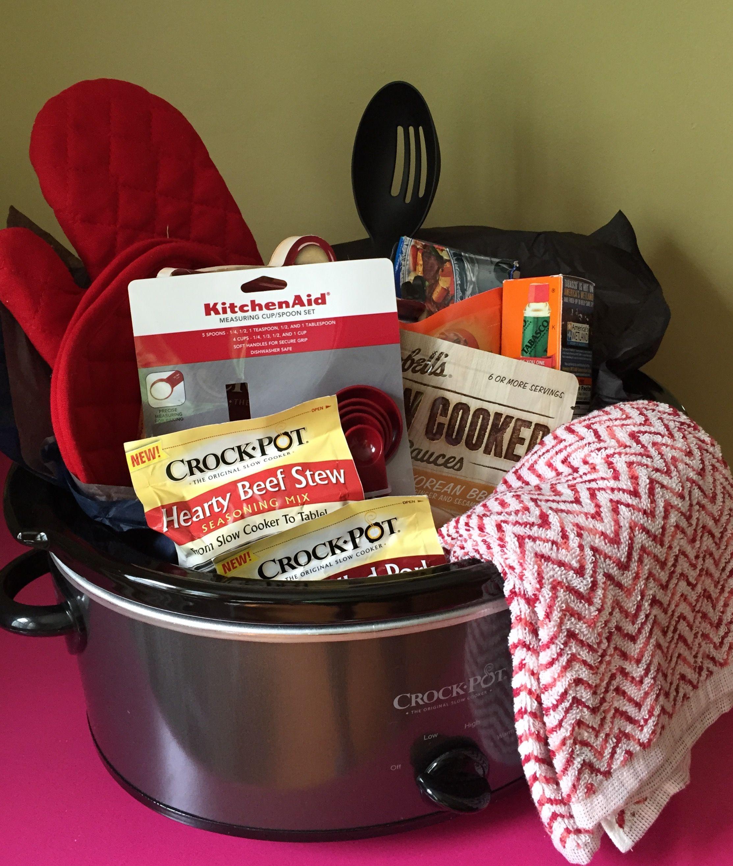 Crock Pot Gift Basket Ideas  Crock Pot Gift Basket Gift Baskets