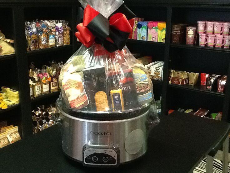 Crock Pot Gift Basket Ideas  1000 images about Crock pot basket on Pinterest
