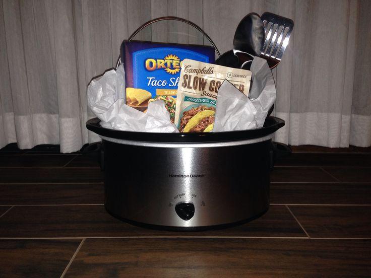Crock Pot Gift Basket Ideas  17 best Crock pot basket images on Pinterest