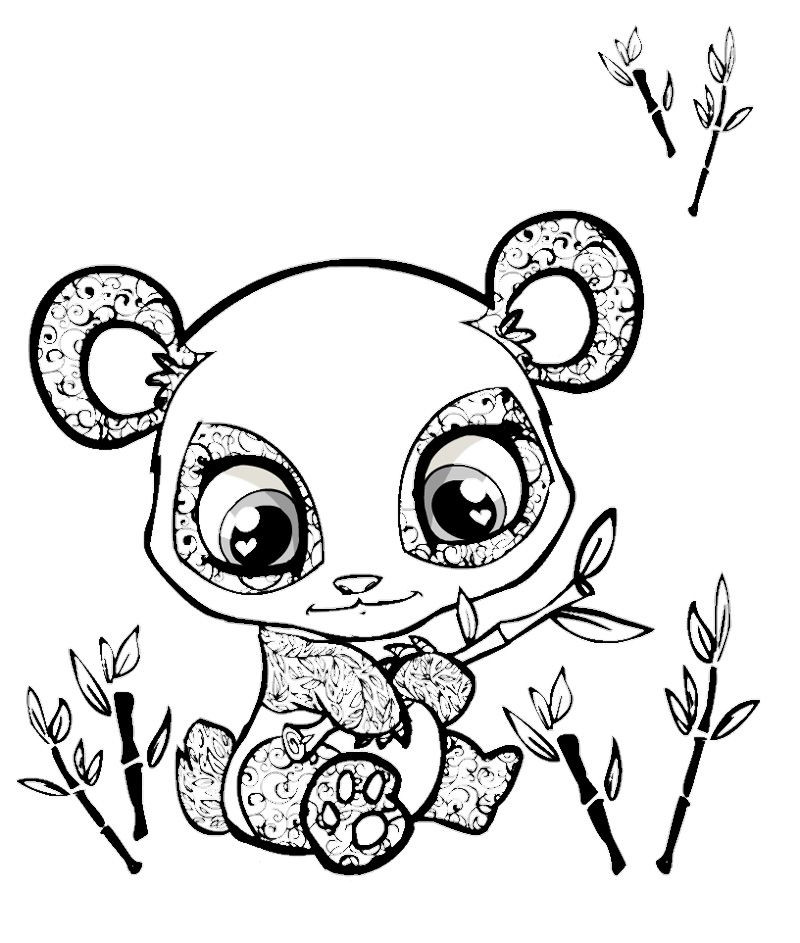 Cute Animal Coloring Pages For Adults  Cute Coloring Pages Animals Coloring Home