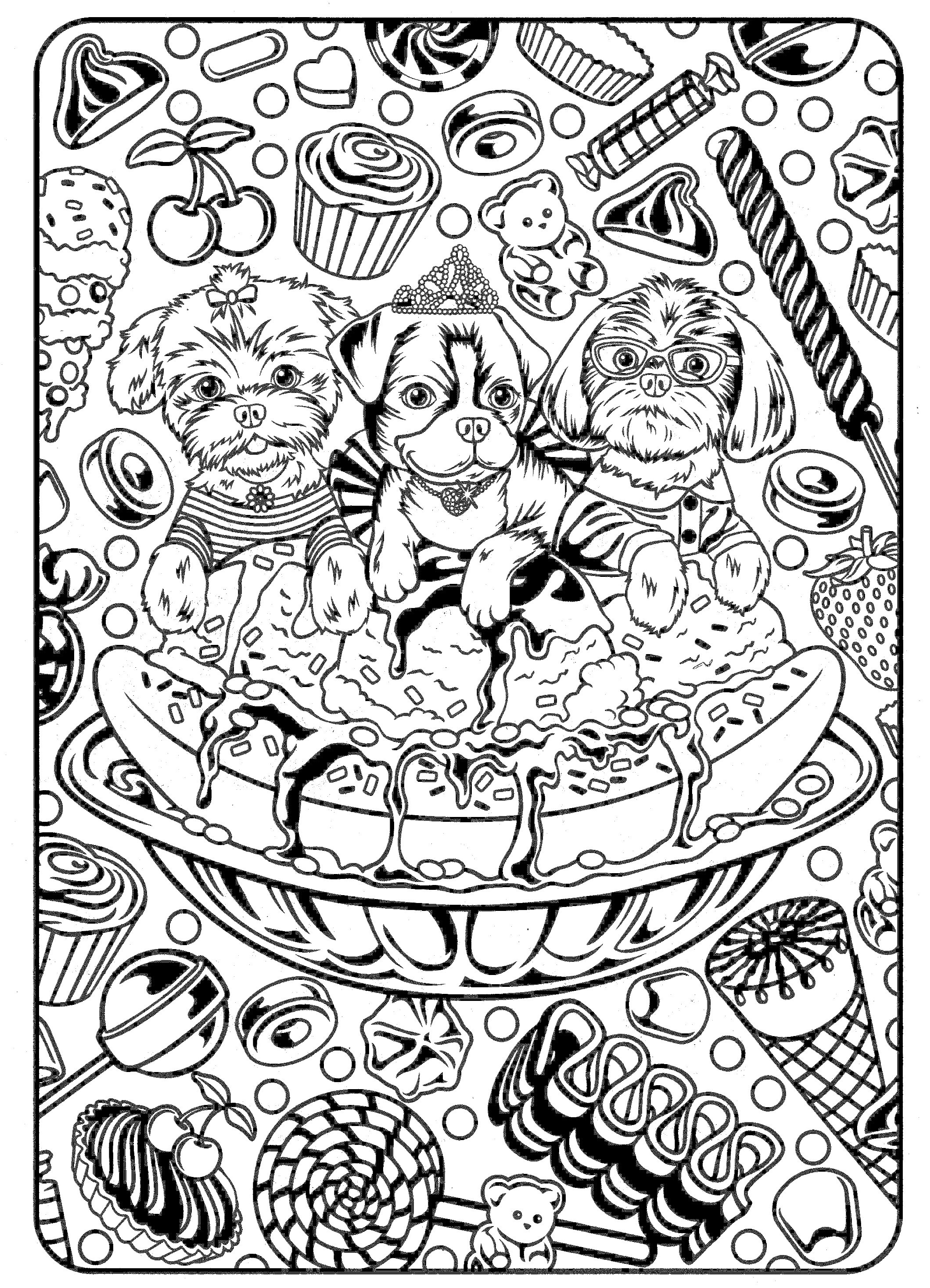 Cute Coloring Pages For Adults  Cute Coloring Pages Best Coloring Pages For Kids
