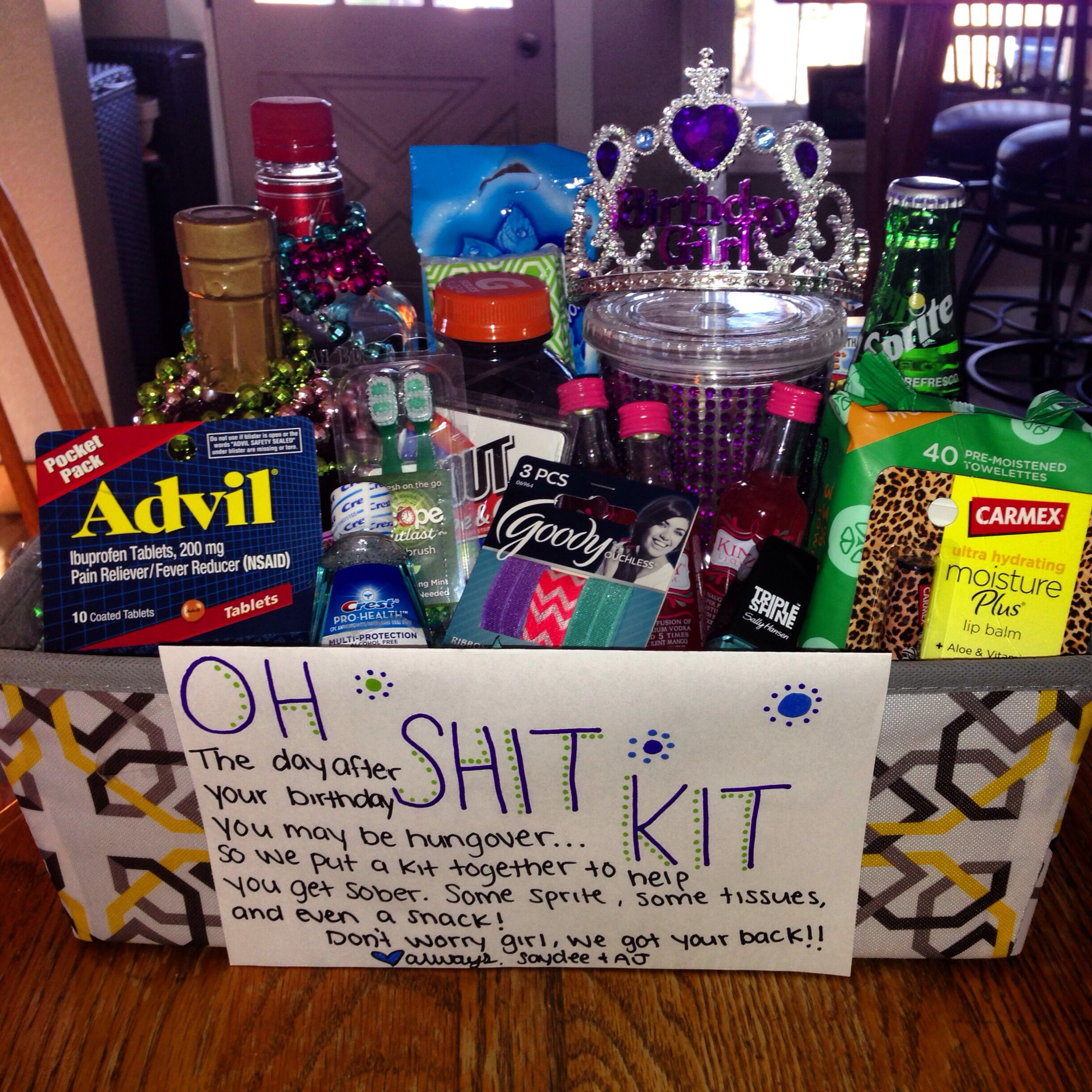 Cute Gift Ideas For Your Girlfriend  Birthday present for my girlfriends 21 st birthday 21