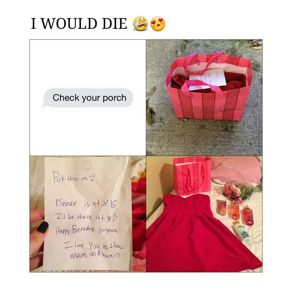 Cute Gift Ideas For Your Girlfriend  Birthday present for your girlfriend