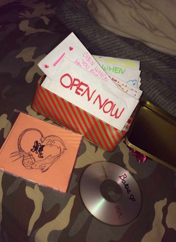 Cute Gift Ideas For Your Girlfriend  Website Open when letters and Christmas on Pinterest