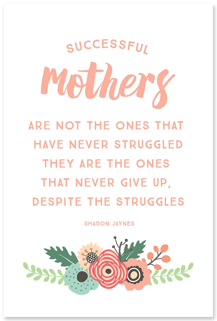 Cute Mothers Day Quotes  5 Inspirational Quotes for Mother s Day