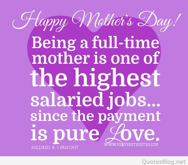 Cute Mothers Day Quotes  Happy Mother s day quotes and sayings on images