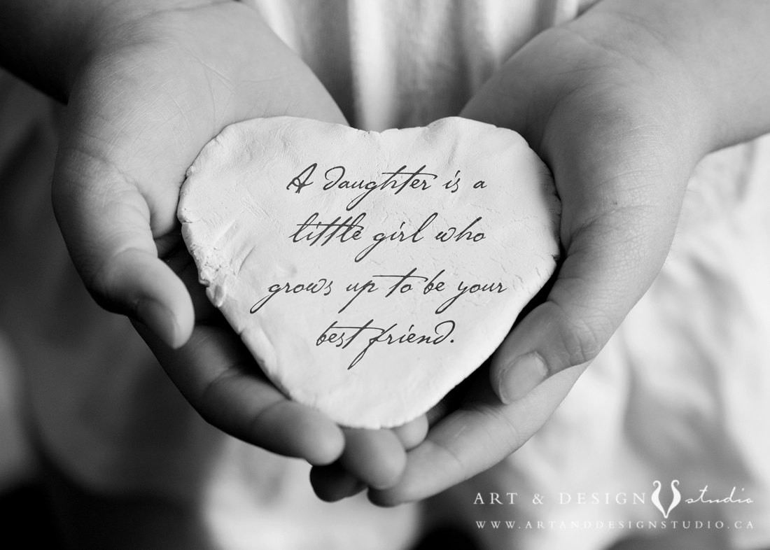 Daughter Quotes From Mother  Daughter Quote Inspirational Gift for Daughter Birthday