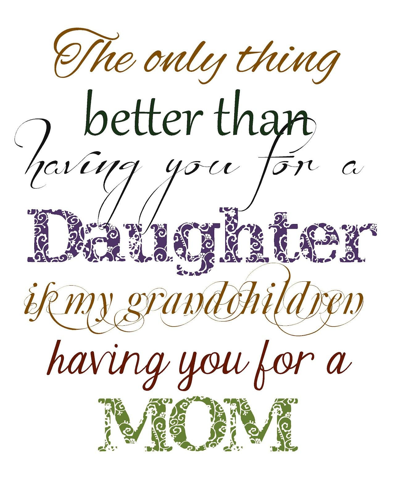 Daughter Quotes From Mother  Mom Quotes to Daughter ting married