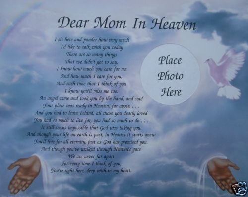 Deceased Mother Birthday Quotes  My blog