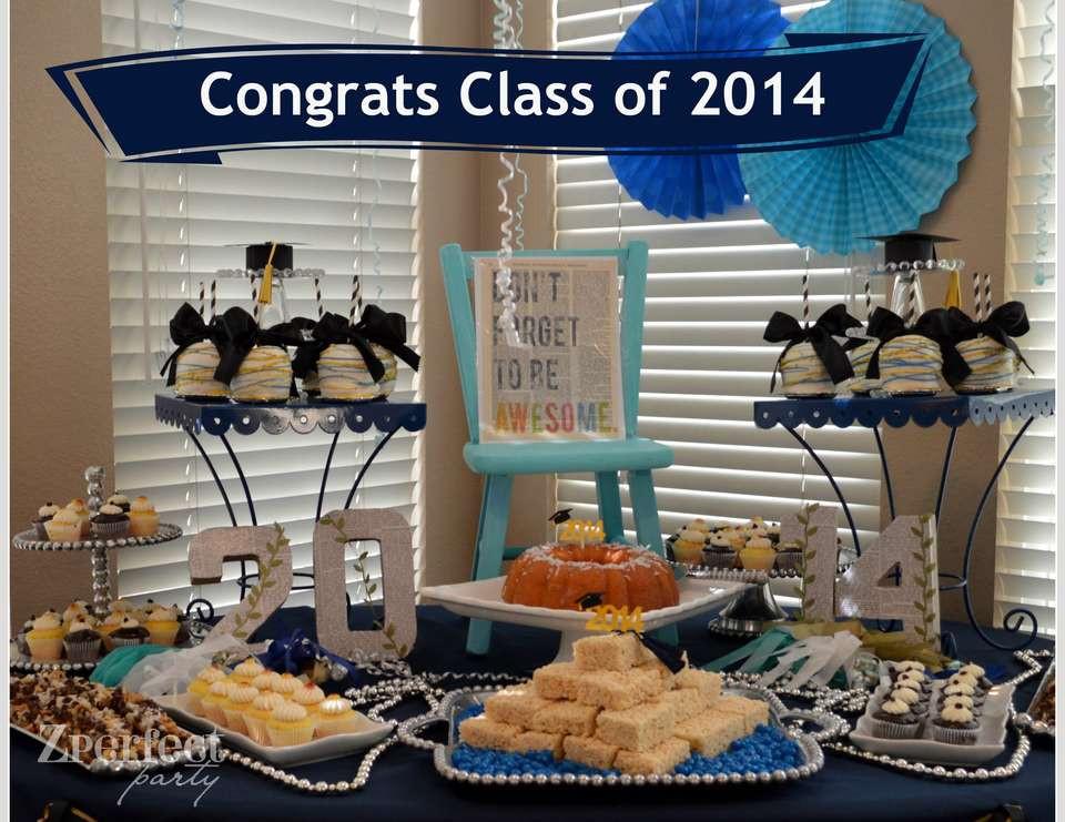 "Dessert Table Ideas For Graduation Party  Graduation Party Graduation End of School ""My Big Fat"