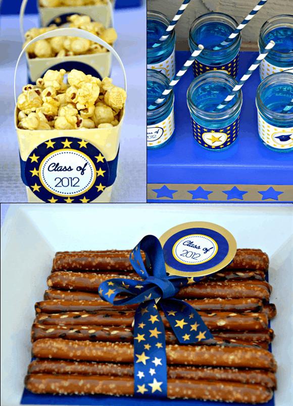 Dessert Table Ideas For Graduation Party  Kara s Party Ideas Graduation Party FREE Printables