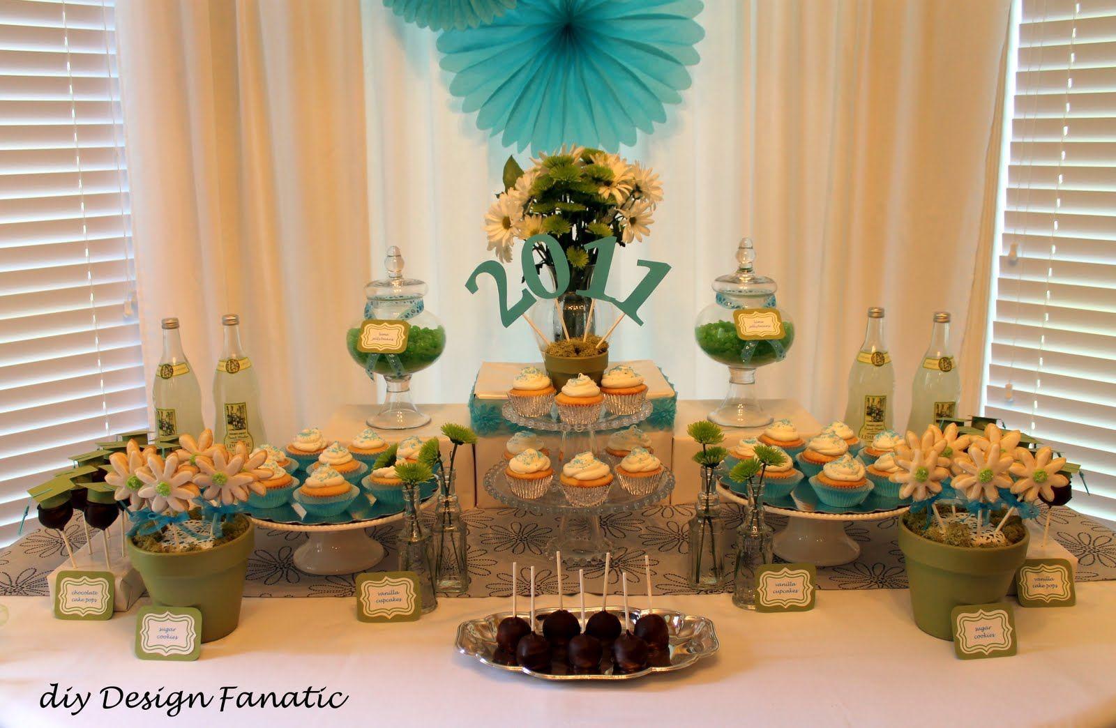 Dessert Table Ideas For Graduation Party  graduation dessert table
