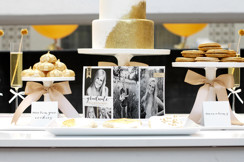 Dessert Table Ideas For Graduation Party  Sparkling Senior Graduation Party with Shutterfly — Kristi