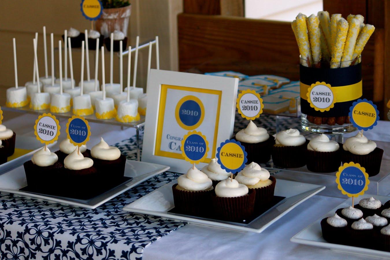Dessert Table Ideas For Graduation Party  Cassie's Graduation Dessert Table