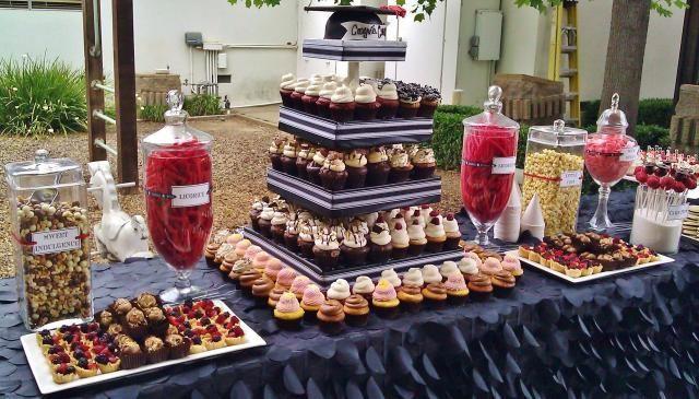 Dessert Table Ideas For Graduation Party  Gallery For Graduation Party Ideas Crimson and Gold