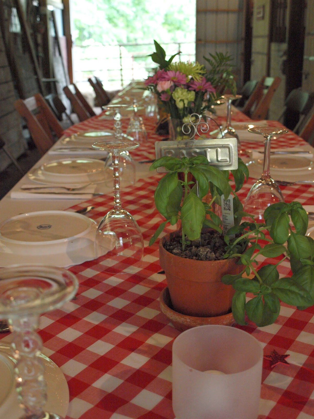 Dinner Party Decorating Ideas  Ohio Thoughts Italian Dinner Party