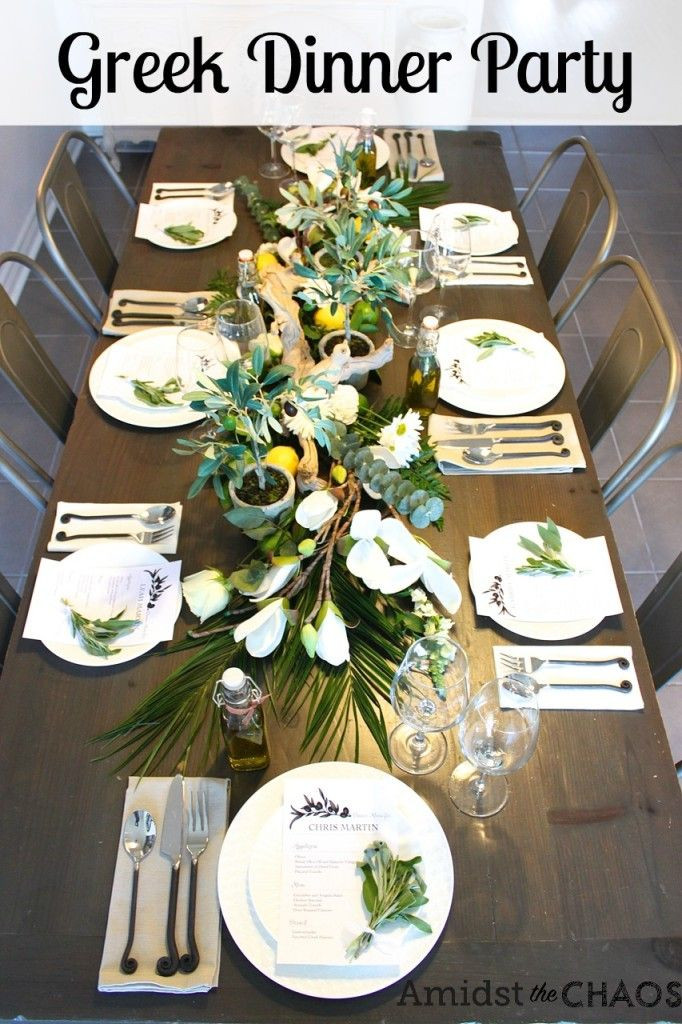 Dinner Party Decorating Ideas  Best 25 Birthday dinner parties ideas on Pinterest