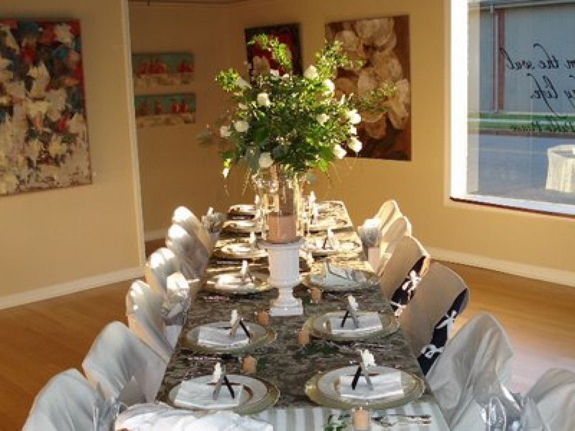 Dinner Party Decorating Ideas  Thanksgiving dinner table setting ideas christmas dinner