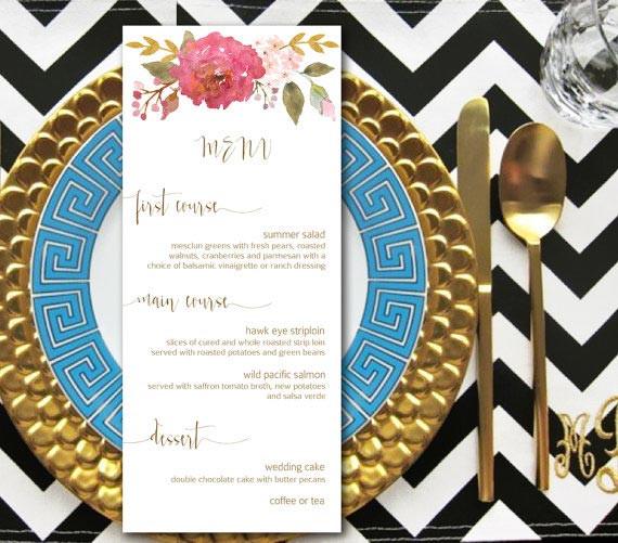 Dinner Party For 8 Menu Ideas  8 Wedding Menus To Inspire You