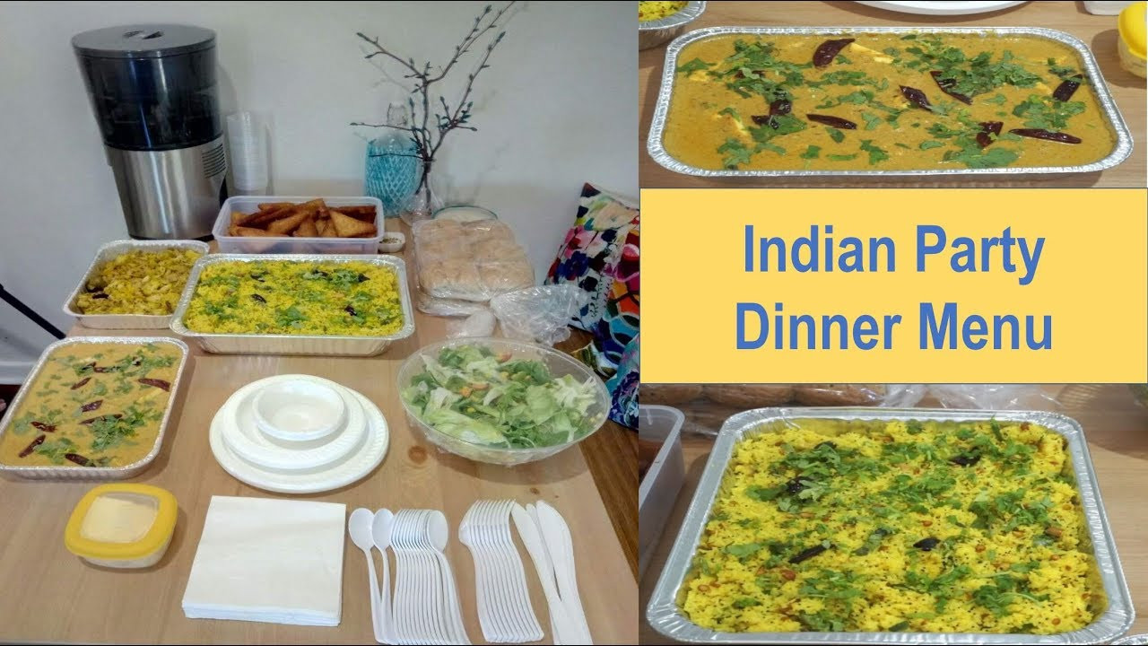 Dinner Party For 8 Menu Ideas  Indian Dinner Menu for Guests
