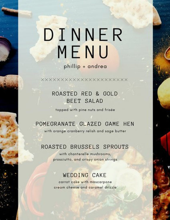 Dinner Party For 8 Menu Ideas  8 Menu Layout Templates Free PSD EPS Format Download
