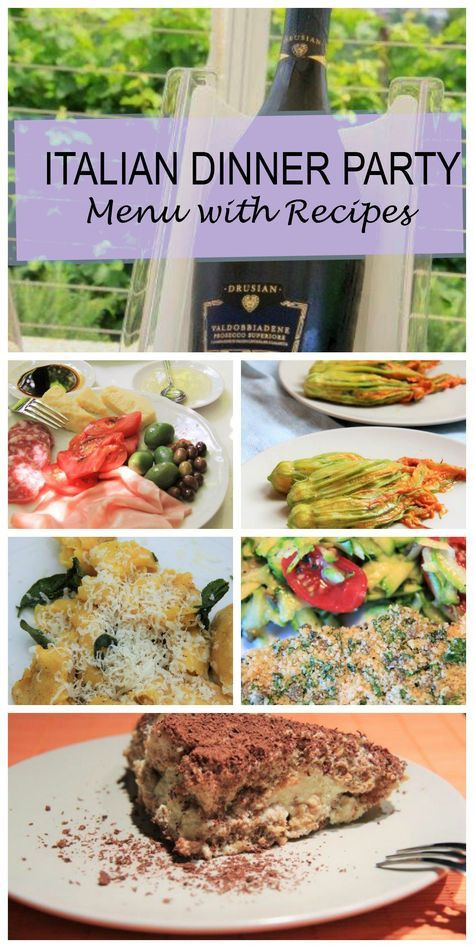 Dinner Party For 8 Menu Ideas  Best 25 Italian dinner parties ideas on Pinterest