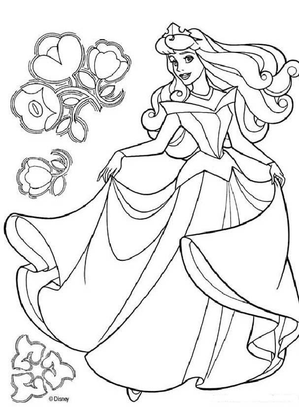 Disney Coloring Books For Kids  Disney Princess Belle Coloring Pages