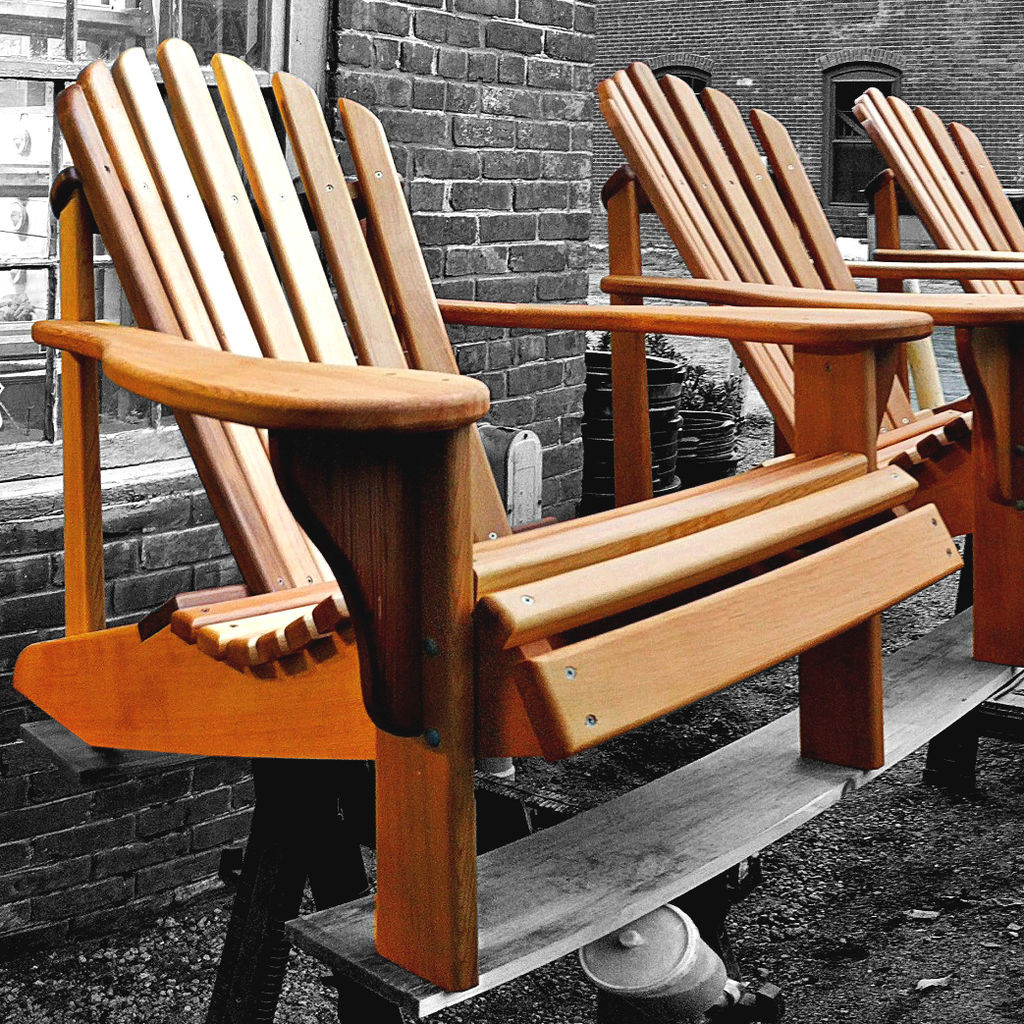 DIY Adirondack Chairs Plans  Adirondack Chair Plans fort And Style For Your Patio