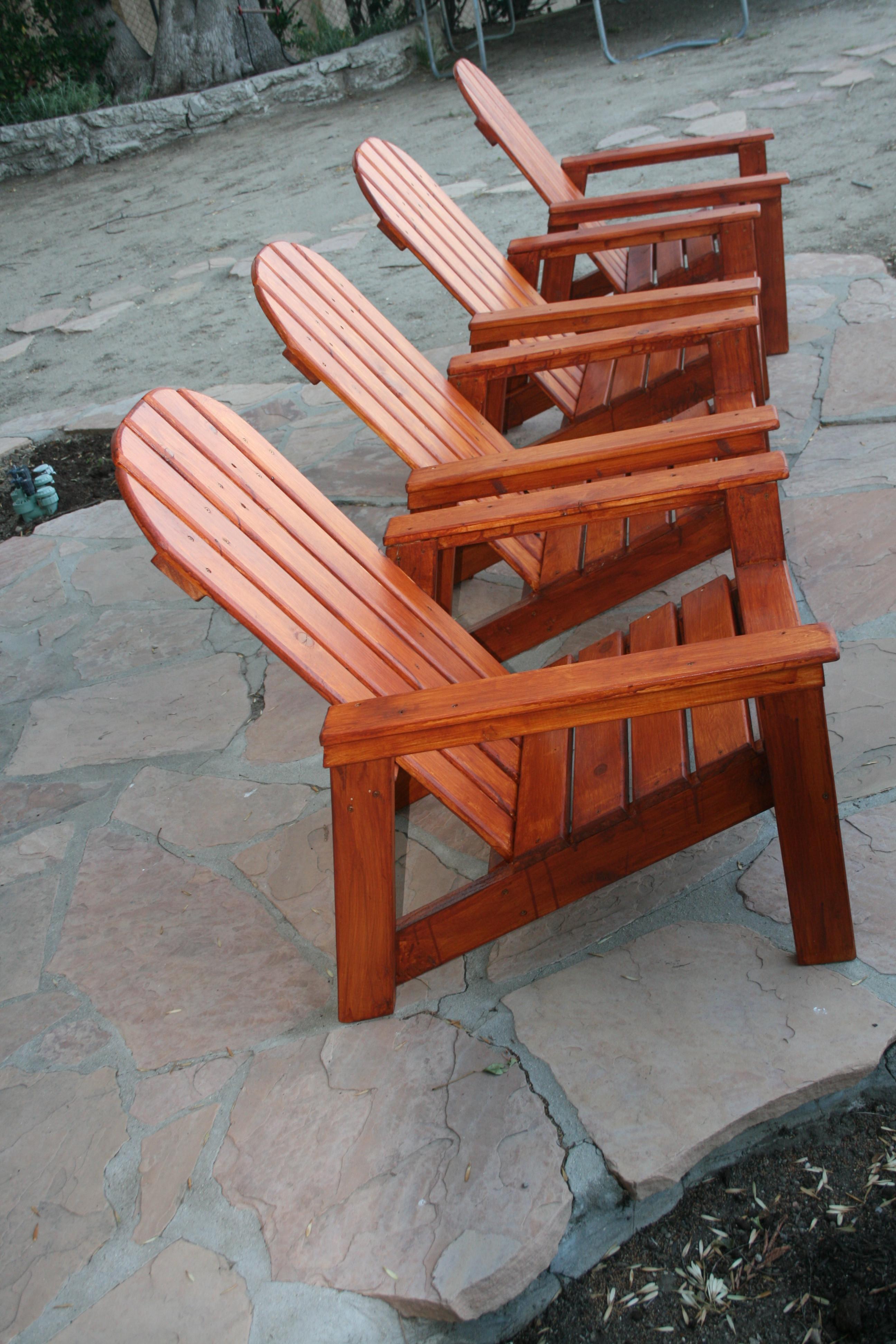 DIY Adirondack Chairs Plans  Ana White