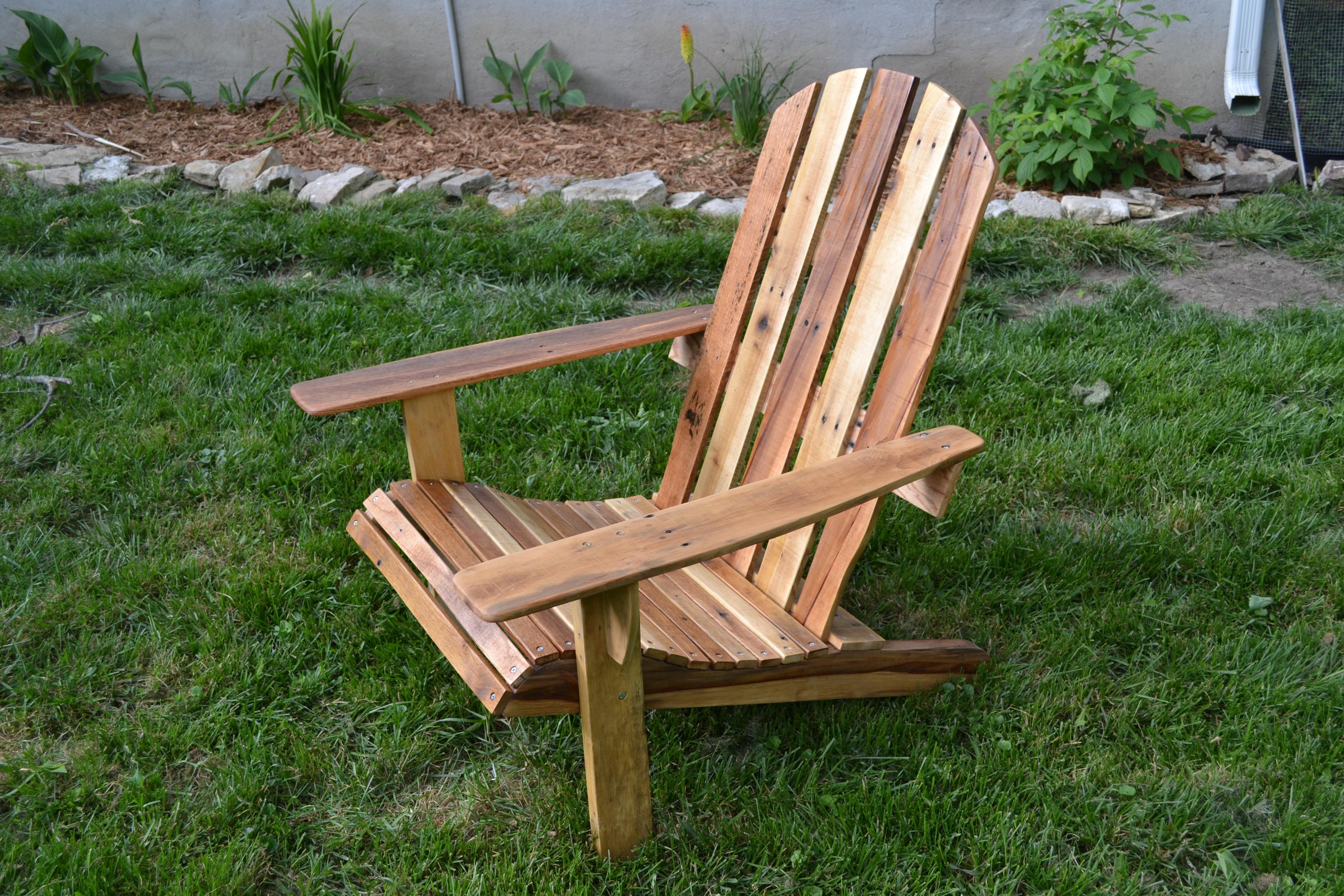 DIY Adirondack Chairs Plans  DIY Adirondack Chair